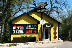 Bacon restaurant Austin eat